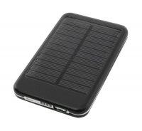 Solární záložní nabíječka s akumulátorem Powerbanka 5000 mAh; 5,5V