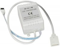 Ovladač 12V/3x2A pro RGB žárovky a pásky, IR D.O. 44 tlačítek