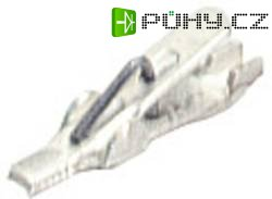 Krokosvorka 1 mm / 17 mm SKS Hirschmann AGF 1 (930476001), bílá
