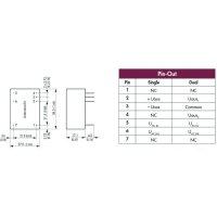 Síťový zdroj do DPS TracoPower TMLM 04105, 4 W, 5 V