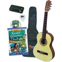 Sada klasické kytary pro děti Voggenreiter velikost kytary 1/2, přírodní