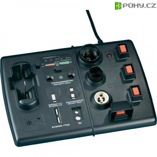Zkoušečka baterií a žárovek PL-580 - Kliknutím na obrázek zavřete