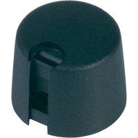 Otočný knoflík OKW, Ø 24 mm x 16 mm, 6 mm, černá