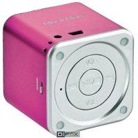 Mini bezdrátová sound stanice Technaxx MusicMan ® BT-X2, růžová