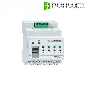IP ovladač na DIN lištu, 4 x spínaný LAN výstup