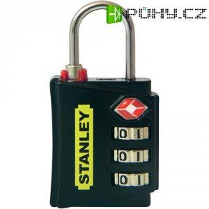 Visací zámek Stanley TSA 3nás. číselník, 30 mm, žlutá (81140393401)