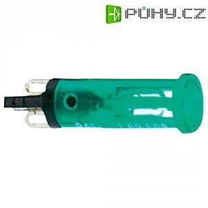 Signálka RAFI, 24 V, zelená (transparentní), 18 mm, kulatá