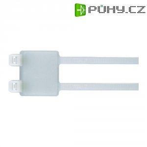 Dvojitý stahovací pásek se štítkem Hell.Tyton IT50RD-PA66-NA-L1 (111-85219), 10 - 44 mm