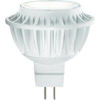 LED žárovka Sygonix GU5.3, 6.8 W, teplá bílá