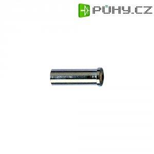 Bezpečnostní konektor Schnepp BU 2300, zásuvka vestavná vertikální, Ø 2 mm, stříbrná