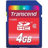 Paměťová karta SDHC Transcend 4 GB Class 2