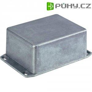 Hliníkové pouzdro - tlakový odlitek spřírubou Hammond Electronics, (d x š x v) 120 x 94 x 57 mm, hliníková (1590WCFL)