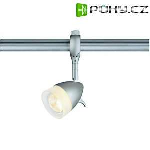 Lištové halogenové svítidlo SLV Kano, 230 V, 50 W, GU10, stříbrná/šedá