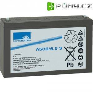 Gelový akumulátor GNB Sonnenschein A506/6,5 S NGA50606D5HS0SA, 152 x 99 x 35 mm