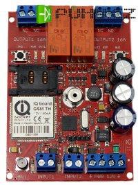 GSM SPÍNAČ IQSB-GSM900-LITE KIT In/OUT GSM modul s 2xrelé - Kliknutím na obrázek zavřete