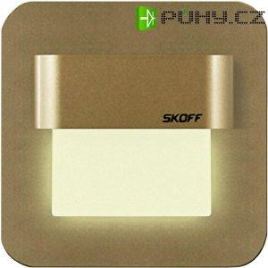 Vestavné LED osvětlení SKOFF Salsa, 10 V, 0,8 W, teplá bílá, mosaz