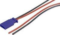 Napájecí kabel Modelcraft, Futaba zásuvka, 300 mm, 0,5 mm²