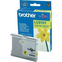 Cartridge Brother LC-970, LC970Y, žlutá