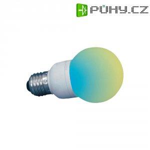 LED žárovka, E27, barevná