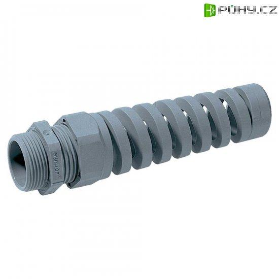 Kabelová průchodka LappKabel Skintop® BS PG16 53015640, -20 až +80 °C, stříbrnošedá (RAL 7001) - Kliknutím na obrázek zavřete