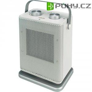 Elektrický topný ventilátor PTC Silva Homeline 890022, šedá