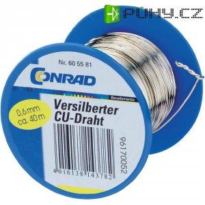 Měděný drát, Ø 0,4 mm