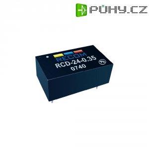 LED driver Recom Lighting RCD-24-0.30 (80099201), analogové stmívání/stmívání pomocí PWM, tištěné