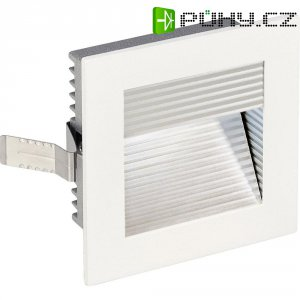 Vestavné LED svítidlo SLV Frame Curve 113290, 1 W, bílá/hliník