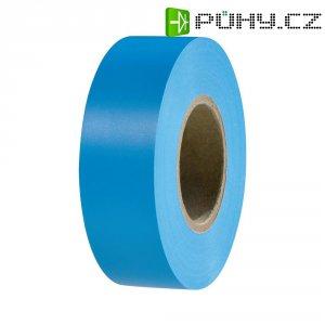 Izolační páska HellermannTyton HelaTapeFlex 15, 710-00122, 19 mm x 25 m, modrá