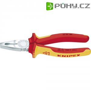 Kombinované kleště VDE Knipex 03 06 180, 180 mm