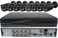 Kamerový systém 1080N JW208K-V20s (DVR+8kamer CMOS)