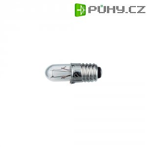 Žárovka Barthelme pro osvětlení stupnice, E 5.5, 6 V, 0,9 W, 150 mA, čirá