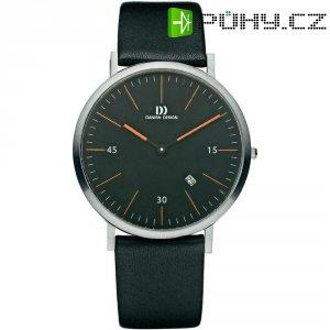Ručičkové náramkové hodinky Danish Design, 3314381, kožený pásek