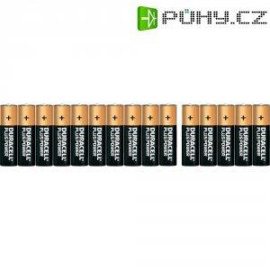Sada alkalických baterií Duracell, typ AA, 15 ks + 5 zdarma