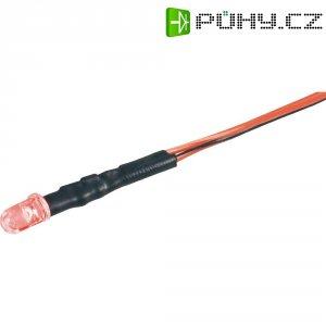 LED signálka P585J, 4800 mcd, jantarová