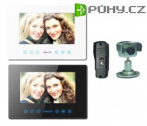 MOVETO 541039 Dveřní bezsluchátkový videotelefon V-039C