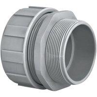Hadicová spojka rovná HellermannTyton PSR20-S-M20 166-40704, M20, 16 mm, šedá, 1 ks