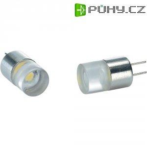 LED žárovka G4, 0.4 W, teplá bílá