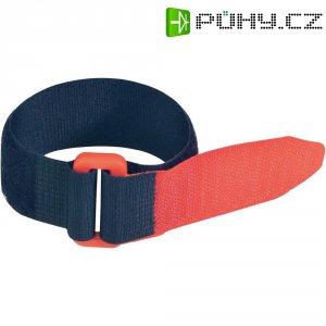 Páska se suchým zipem, Fastech 688-330KC, černá/červená, 300 mm x 25 mm, 2 ks