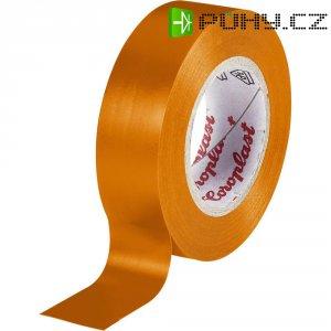Izolační páska Coroplast, 302, 15 mm x 10 m, oranžová