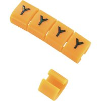 Označovací klip na kabely KSS MB1/Y 28530c616, Y, oranžová, 10 ks