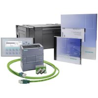 Sada PLC kontrolérů Siemens S7-1200+KP300 BASIC 6AV6651-7HA01-3AA4, 115 - 230V/AC