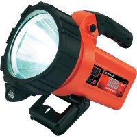 Akumulátorová ruční LED svítilna Renkforce 9008c17, 10 W, černá/červená
