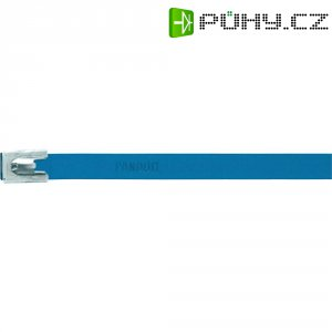 Hliníkový stahovací pásek 362 x 7,9 mm, modrý, Panduit-MLT4H-LPALBU 222 N
