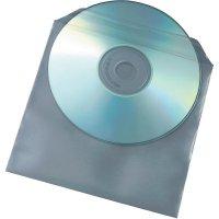 Ochranný obal pro CD/DVD, transparentní, 50 ks