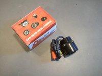 Couvací kamera závrtná s IR přisvícením