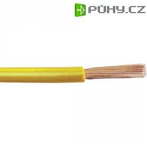 Kabel pro automotive Leoni FLRY, 1 x 0.75 mm², žlutý