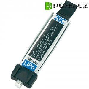 Akupack Li-Pol (modelářství) Conrad energy 467c54, 3.7 V, 120 mAh