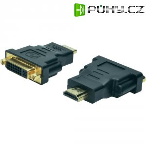 Redukce vidlice HDMI ⇔ DVI zásuvka, Digitus