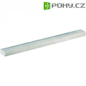 Plochý 4-hranný profil 40 x 10 x 200 mm